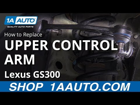 How to Replace Upper Control Arm 97-05 Lexus GS300