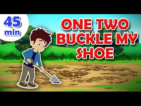 One Two Buckle My Shoe Nursery Rhyme & Popular Nursery Rhymes With Max And Louie