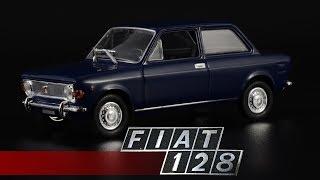 Передний привод: FIAT 128 || Norev || Автомобиль года 1970