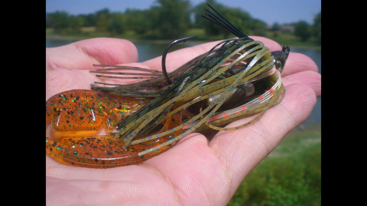 fishing the strike king kvd swim jig (hat cam bass) - youtube, Hard Baits