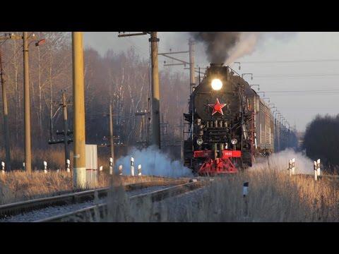 [RZD] LV-0522 steam locomotive, Preduzlovaya-Pavlovskaya - Rogavka stretch