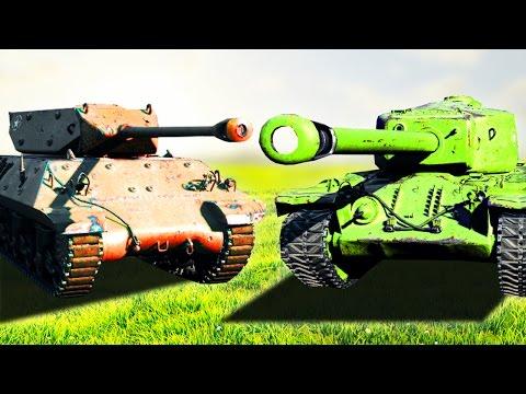 EXTREME TANKS vs TANKS! (World of Tanks)