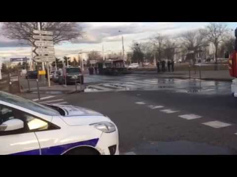 Bus Incendié à Vénissieux (69)