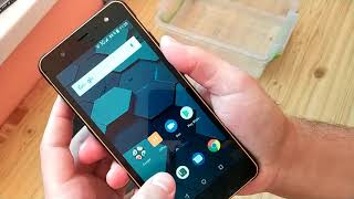 Review smartphone POPTEL P10 with crush-tests