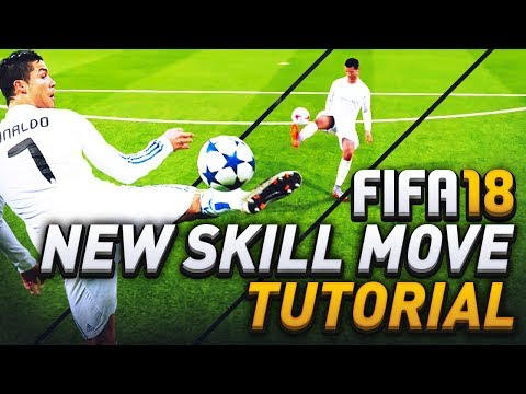 FIFA 18 NEW SKILL MOVE TUTORIAL! HOW TO SCORE WITH THE TORNADO FLICK! IN ULTIMATE TEAM!