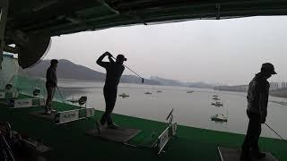 골프 연습장 기흥 수상 연습장