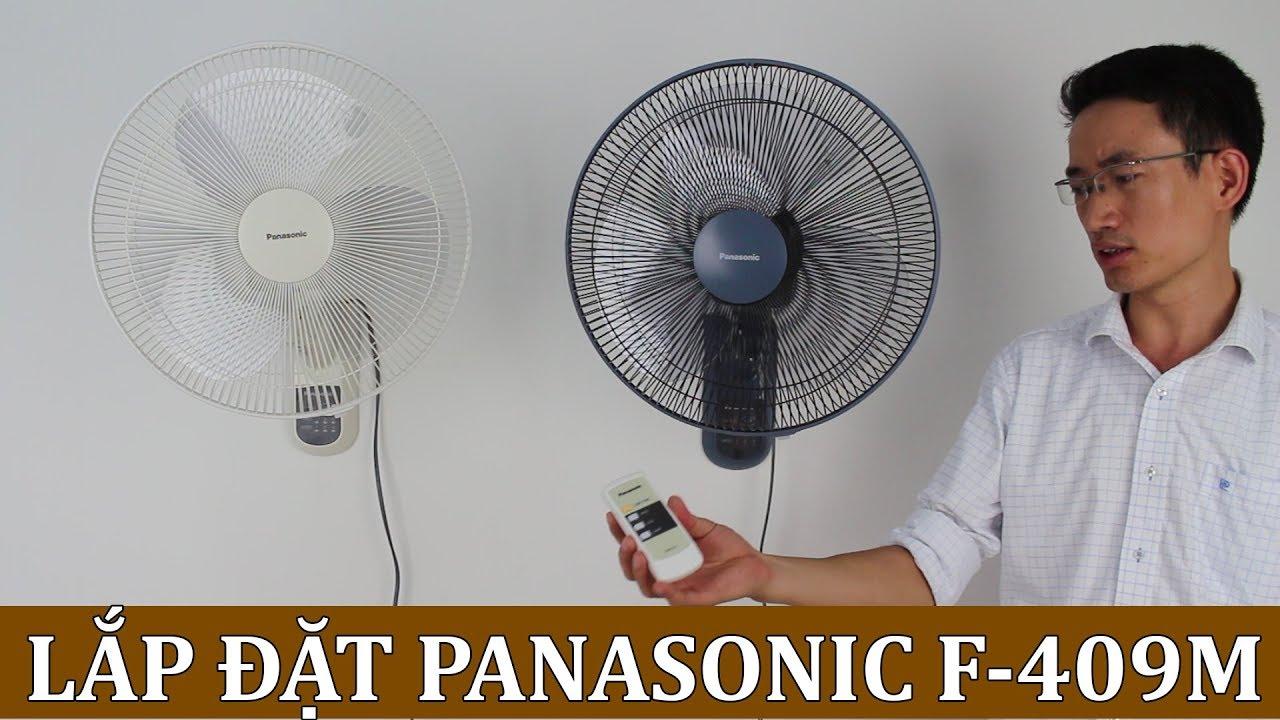 Hướng đẫn lắp đặt quạt treo tường Panasonic F-409M Malaysia