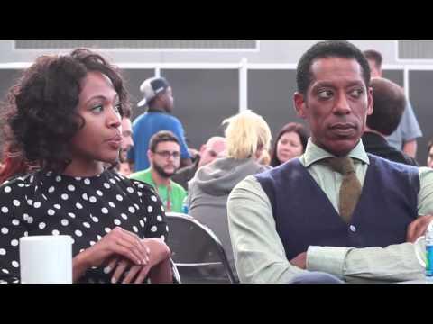 NYCC 2013 - Sleepy Hollow Press Room Interview: Nichole Beharie and Orlando Jones