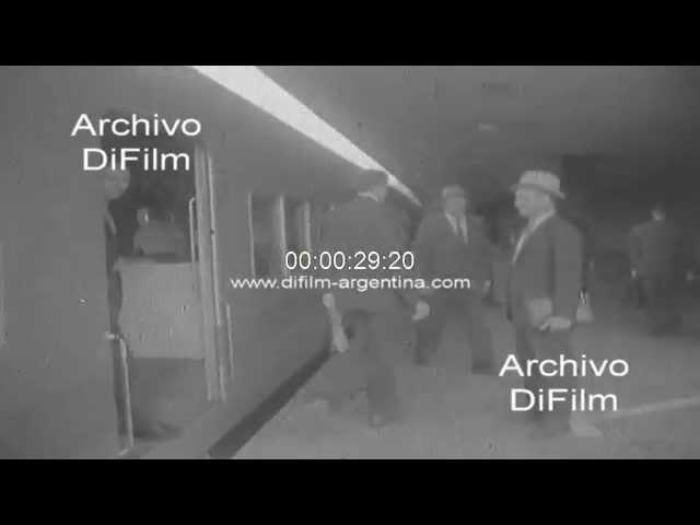 Estacion Once de Septiembre del Ferrocarril Sarmiento 1970