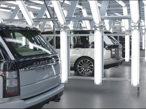Jaguar Land Rover Special Vehicle Operations Film
