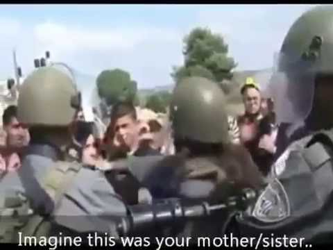 How Israeli Soldiers Treat Palestinian Women and Children!