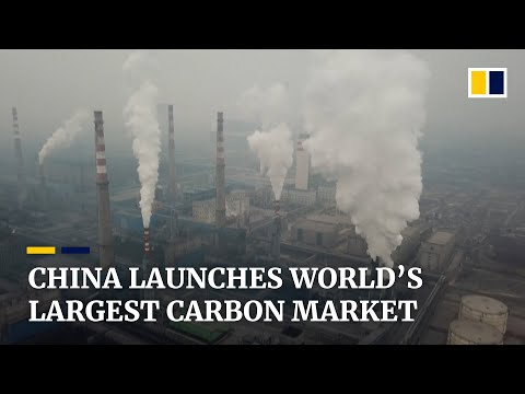 China launches world's largest carbon-trading scheme as part of 2060 carbon neutrality goal
