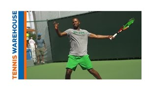 Tecnifibre Racquet Review with Donald Young