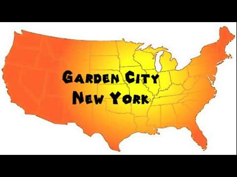 How to Say or Pronounce USA Cities — Garden City, New York