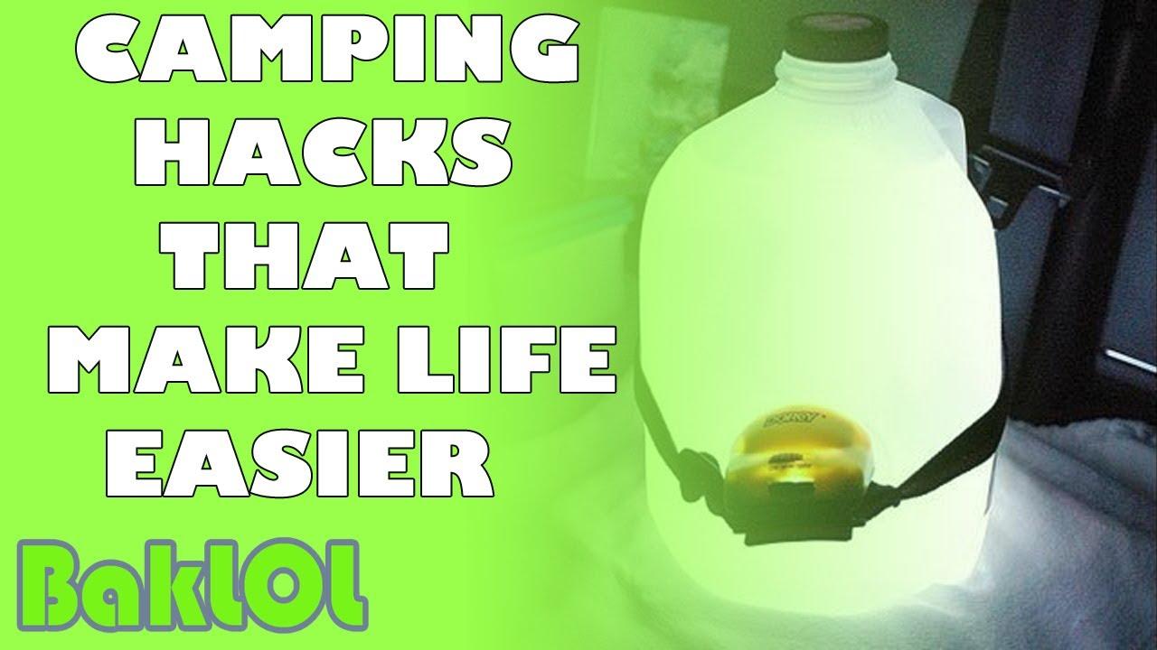 Camping Hacks That Make Life Easier - YouTube