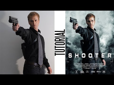 Hollywood Style Movie Poster | Easy Photoshop Tutorial