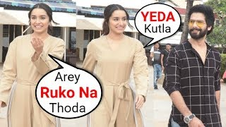Shraddha Kapoor Funny Moments With Media Photographers