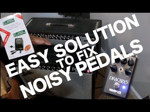 Easy Solution To Fix Noisy Guitar Pedals