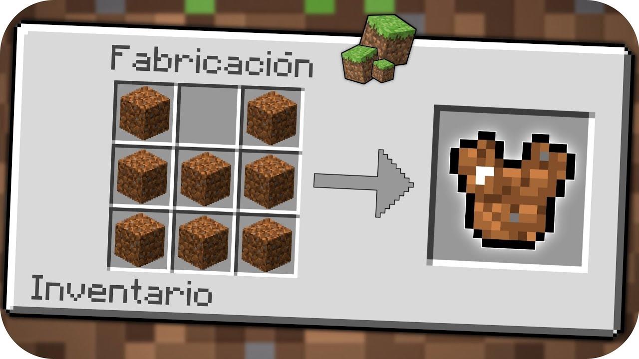 Cómo Hacer Una Armadura De Tierra En Minecraft Bebé Adolfito Vs Minecraft