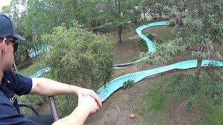 Lift Ride at Jamberoo Action Park
