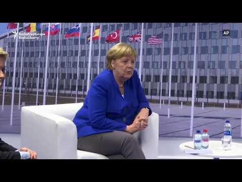 Trump Meets Merkel After Calling Germany