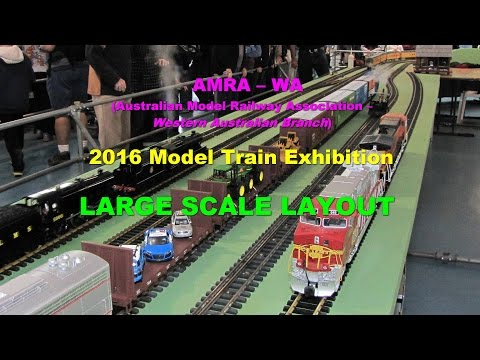 2016 AMRA Large Scale Trains, Perth, Western Australia