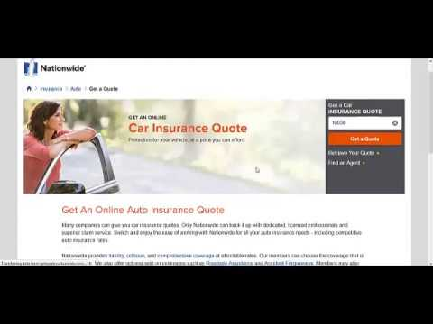 Car insurance quotes from NationWide LTD.