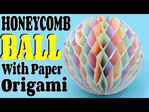 Paper Honeycomb Ball