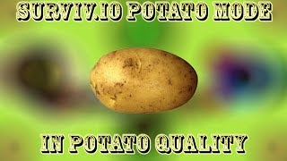 Surviv.io Potato Mode... In Potato Quality! (Potential Sound Warning)