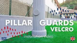 Pillar Guard Velcro Instructions (English) – Arte Viva