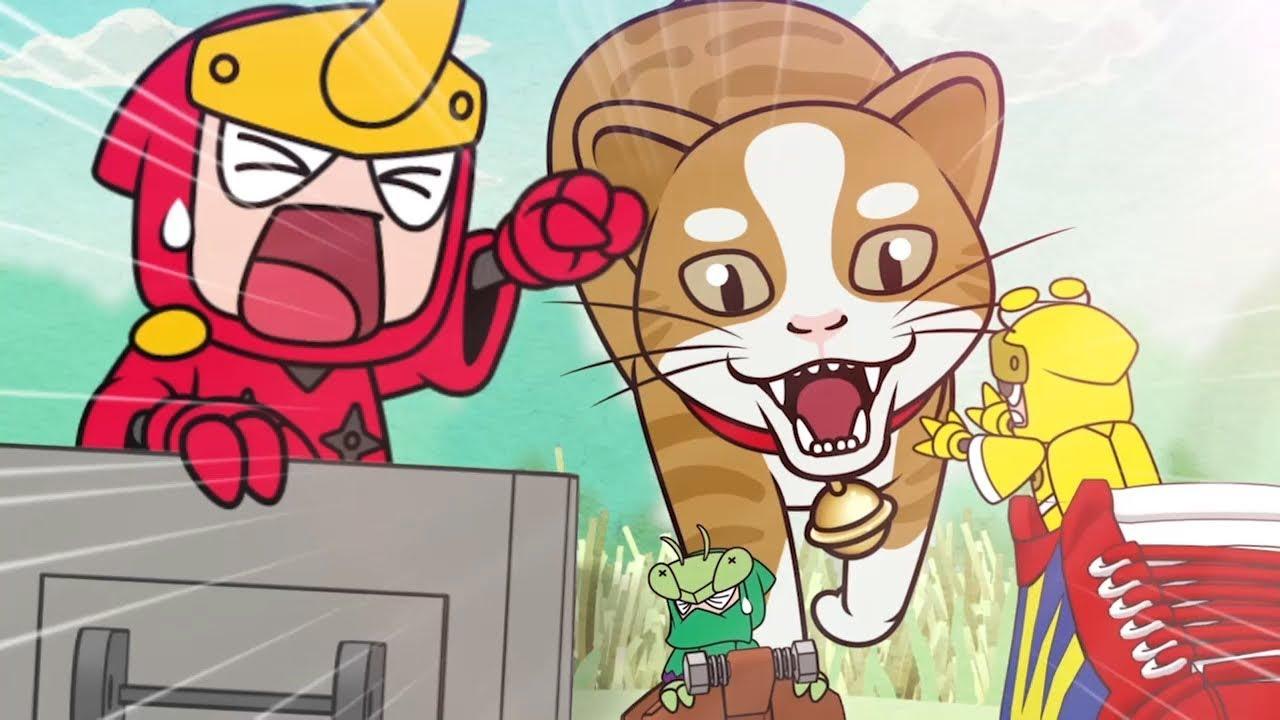 【ムシ忍】ミニアニメ 第9話 スニーカーベースでしゅっぱつ!お宝発見!コガネニンの巻