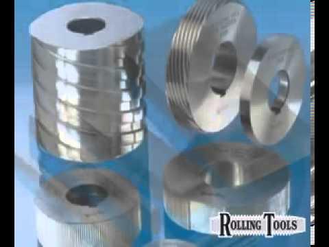 Rolling Tools - Thread rolling dies, flat dies and planetary dies