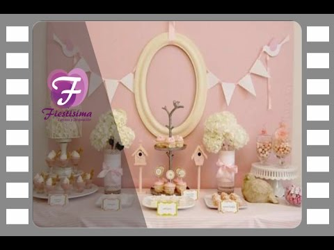 Ideas de decoraci n de comuni n para ni as youtube - Decoracion con chuches para comuniones ...