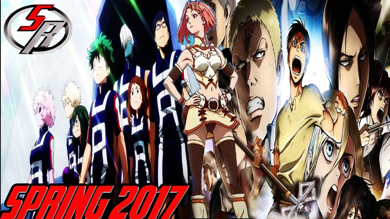 Spring 2017 anime season scott reports review react watch list