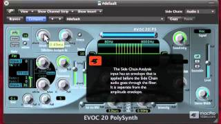 Logic 210: Vocoding With EVOC - 08 Shaping the Side Chain Input