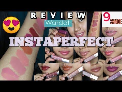 wardah-instaperfect-mattesetter-lip-matte-paint-review-&-swatches-lengkap