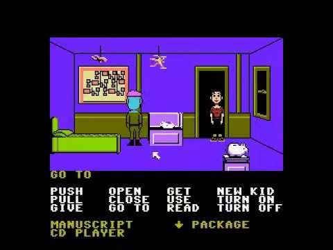 Let's Play Maniac Mansion (Full Playthrough)