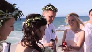Античная Свадьба на Берегу моря – Свадьба в Греции