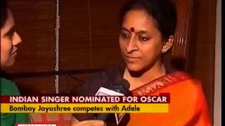 Oscar cheer for India: Carnatic singer Bombay Jayashri in race for original song