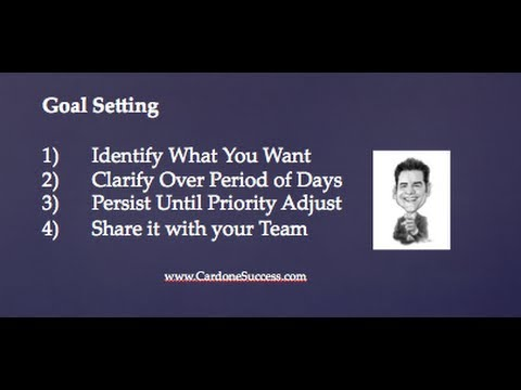 Goal Setting by Grant Cardone