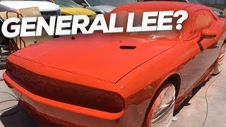 Building the General Lee Challenger [Dukes of Hazard Tribute]
