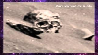 Giant Humanoid Skull Found On Mars