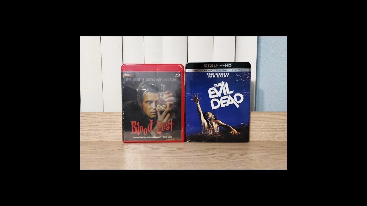 Download Blood Lust & The Evil Dead 4K / Blu-Ray Unboxing - Mondo Macabro / Lionsgate