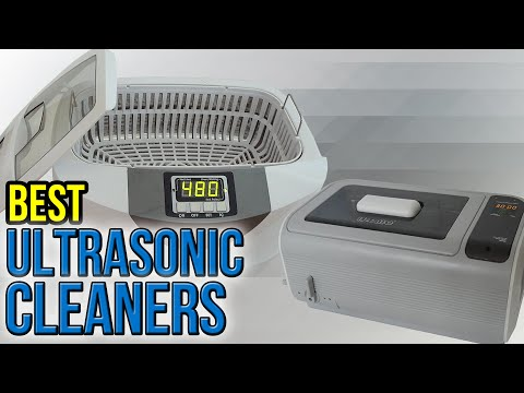 10 Best Ultrasonic Cleaners 2017