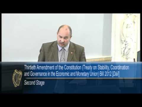 Ó Clochartaigh - austerity treaty is a bad deal for Ireland