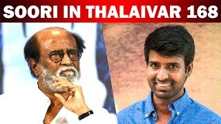 Soori in Rajini's 168