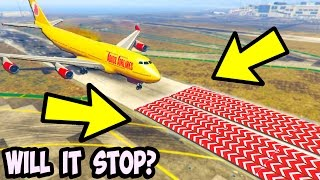 can 100 speed nerfs stop a plane from landing in gta 5