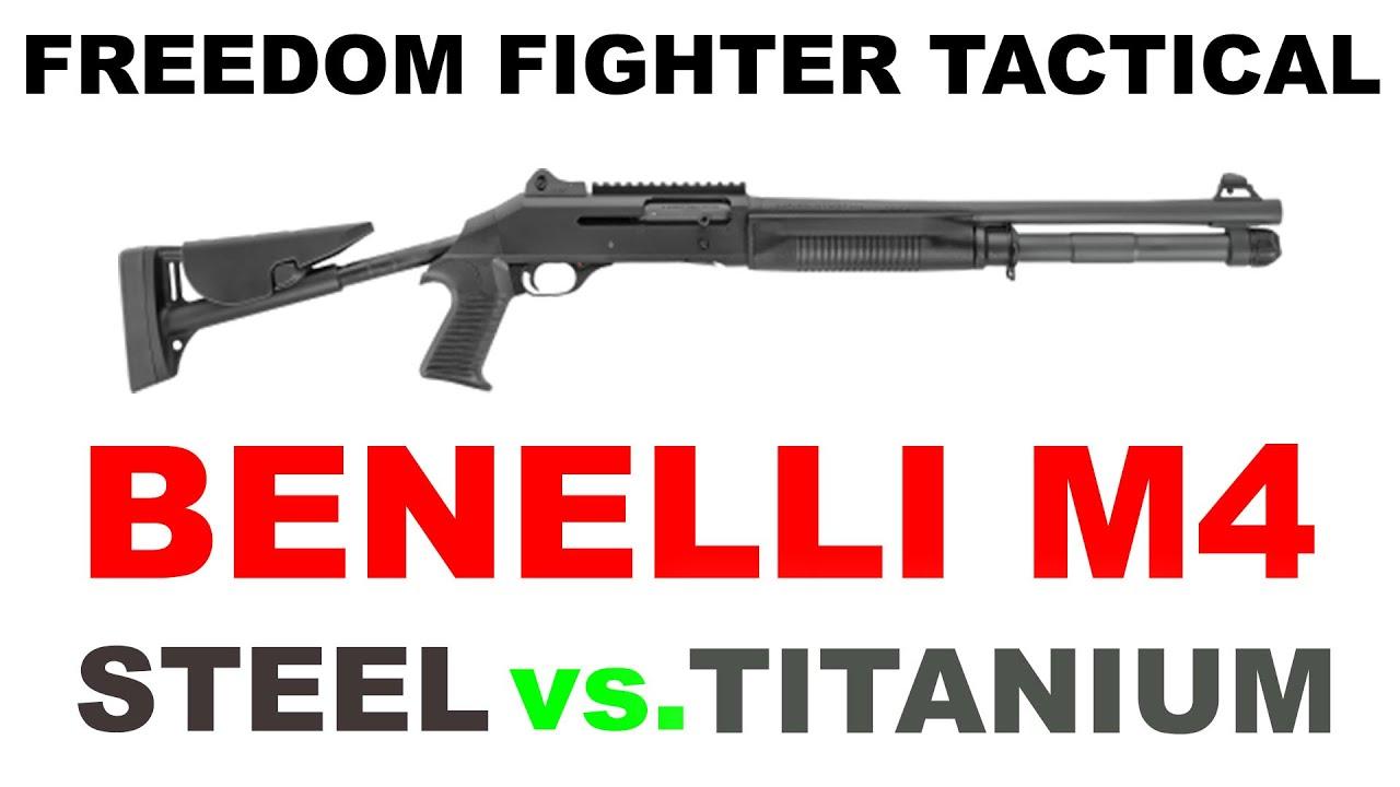 Freedom Fighter Tactical: Steel vs  Titanium: Parts for Benelli M4 Tactical  Shotgun