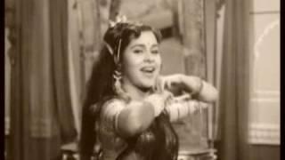 fim kohinoor.1960.lovely dialogue, dilip kumar & kum kum.singer asha bhonsle: jadugar qatil