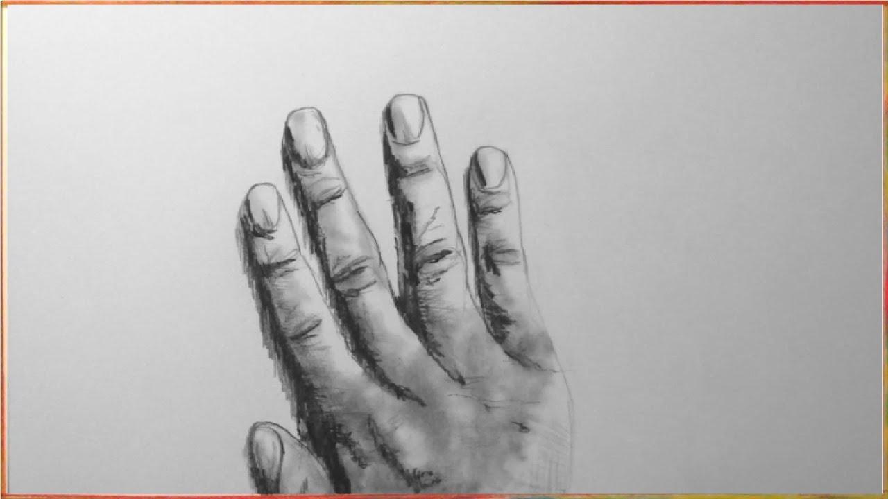 Hand Zeichnen Im Zeitraffer Hand Drawing In Fast Motionhd